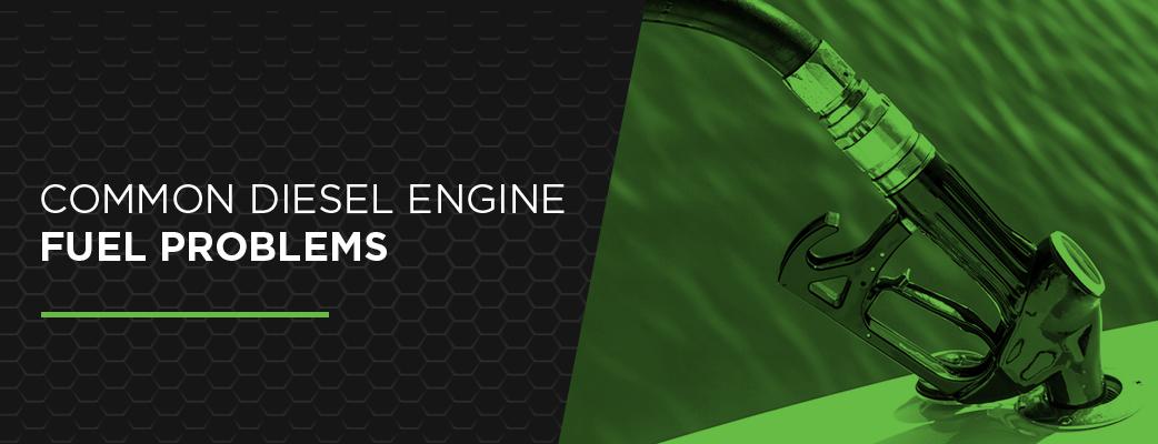common diesel engine fuel problems
