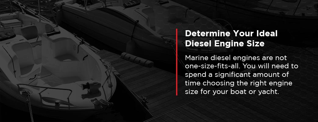 Determine Your Ideal Diesel Engine Size