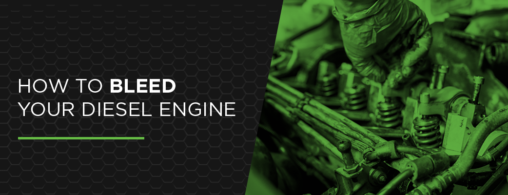 How to Bleed Your Diesel Engine