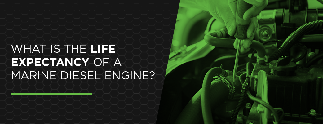 What Is the Life Expectancy of a Marine Diesel Engine?