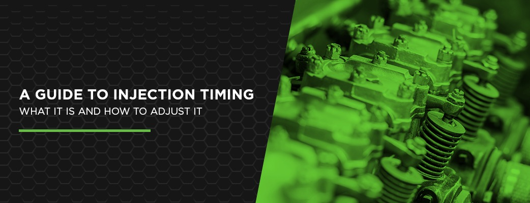 A Guide to Injection Timing — What It Is and How to Adjust It
