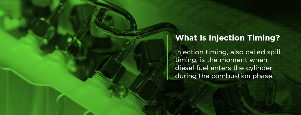 What Is Injection Timing?