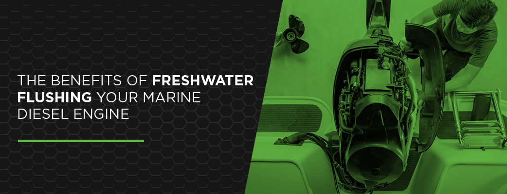 The Benefits of Freshwater Flushing Marine Diesel Engines