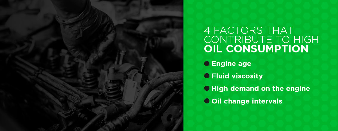 4 Factors That Contribute to High Oil Consumption