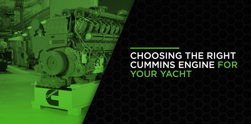 Choosing the Right Cummins Engine for Your Yacht