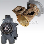 8V92 Water Pumps