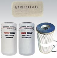 Detroit Diesel 12V71 Fuel Filters