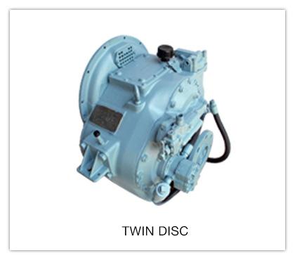Transmisiones marinas Twin Disc®