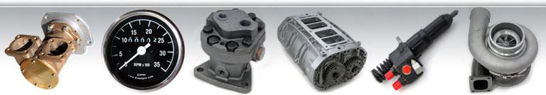 Detroit Diesel 6V71 Repuestos diesel