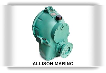 Transmisiones marinas Allison M, Transmisiones marinas Allison MH, Transmision marina usada, reconstruida, nueva