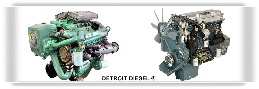 Click here to view parts for Detroit Diesel® 2 and 4 cycle engines