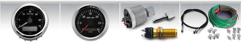 Detroit Diesel Tachometers and Engine Gauges