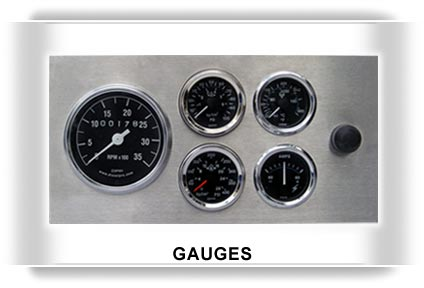 Engine gauges,marine gauges,oil pressure gauge,temperature gauge,water level gauge,ammeter,voltmeter,hourmeter
