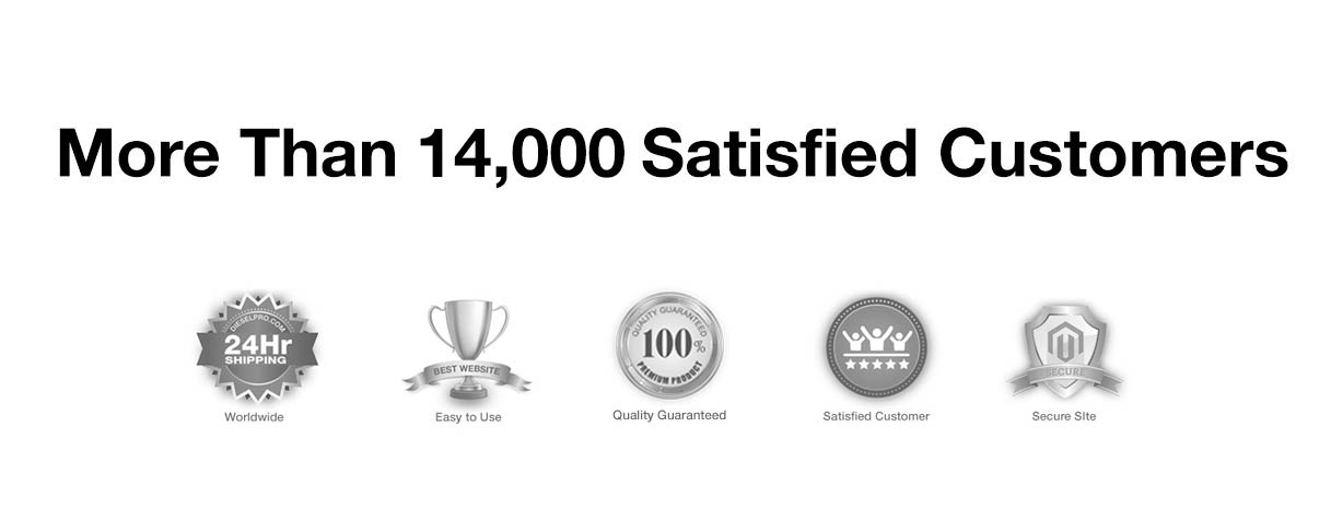 More Than 14,000 Satisfied Customers